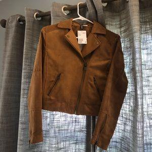 H&M    Faux Suede Jacket